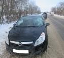 В Тульской области «Опель» сбил пенсионера
