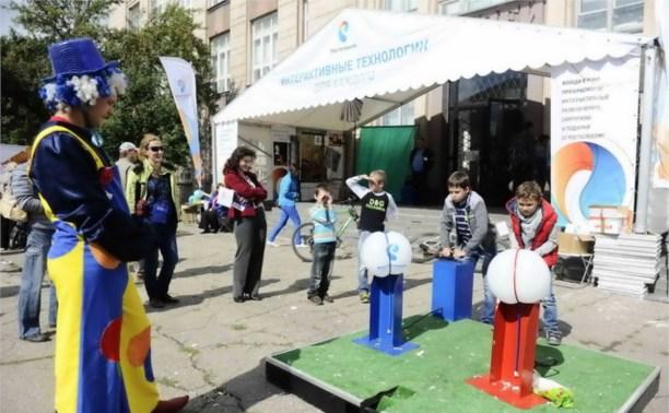 «Ростелеком» показал свои интерактивные возможности на первом тульском IT-фестивале