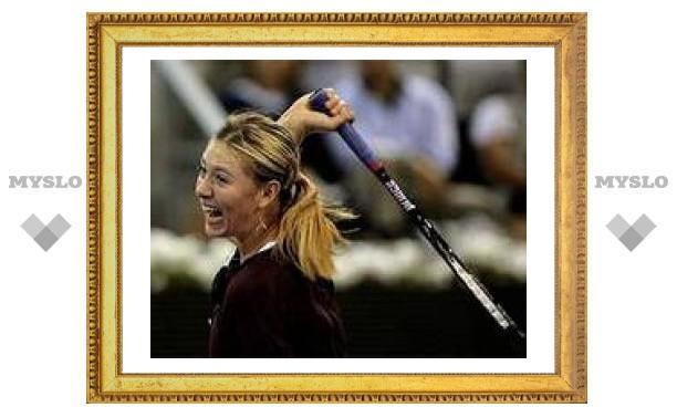 Мария Шарапова заняла третье место в списке самых богатых молодых звезд