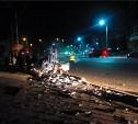 Водитель «Мазды», ночью сбивший столб в центре Тулы, был пьян