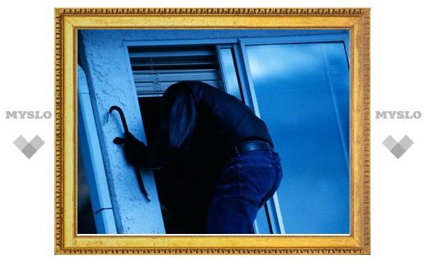 В Плавске поймали квартирного вора