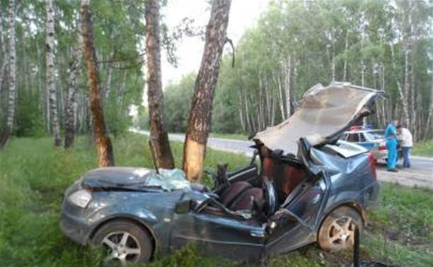 В Суворовском районе перевернулся «Рено»