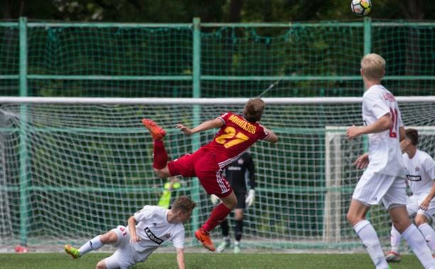Молодежка «Арсенала» на последних минутах проиграла команде из Хабаровска