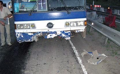 Автобус с паломниками попал в ДТП под Тулой