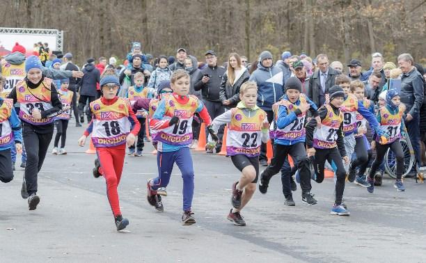 В тульском лыжном комплексе имени Веденина состоялся открытый фестиваль по дуатлону
