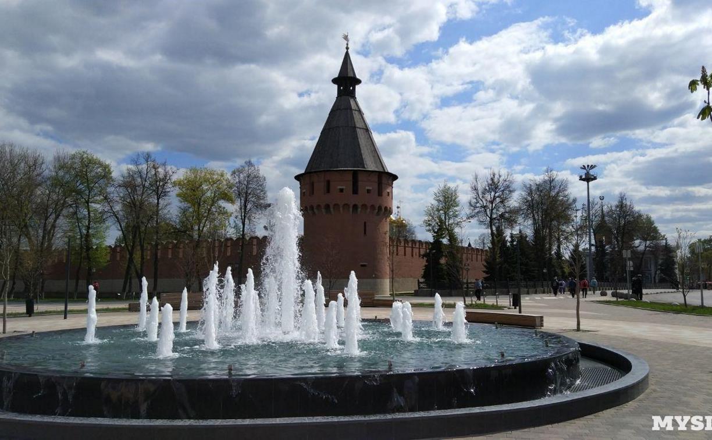 В Туле фонтаны запустят к 1 мая