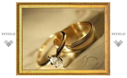 В Туле ожидается свадебный бум