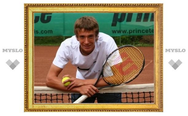 Тульского теннисиста тренировал Михаил Южный