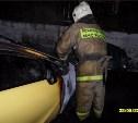 На улице Седова сгорел «Опель Астра»