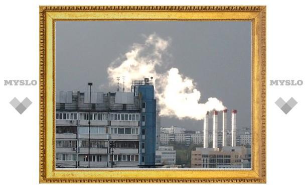 Выбросы в атмосферу снизились из-за банкротства предприятий