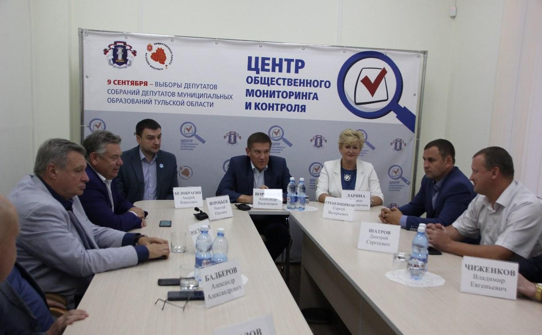 Представители политических партий: Выборы в Тульской области прошли без нарушений