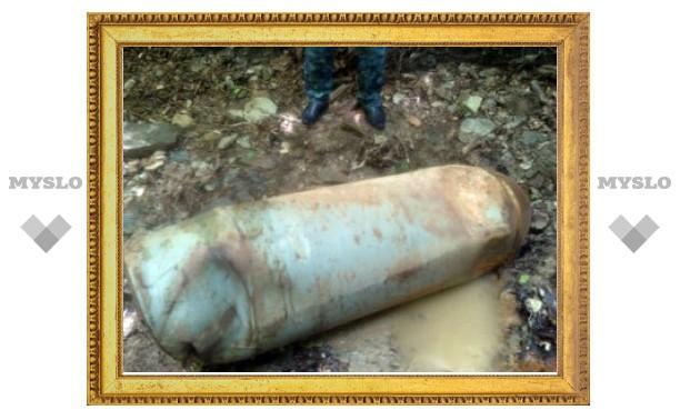 В горах Чечни нашли полутонную вакуумную авиабомбу