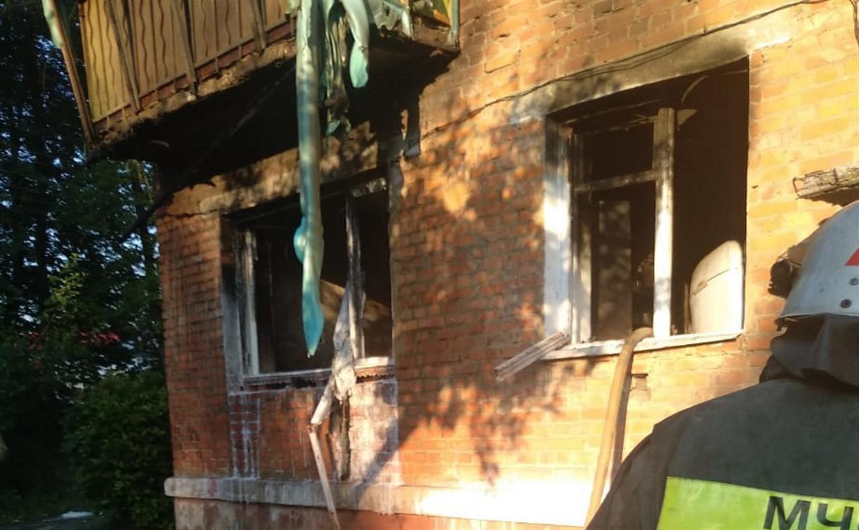 В Тульской области в жилом доме взорвался газ: пострадал пенсионер