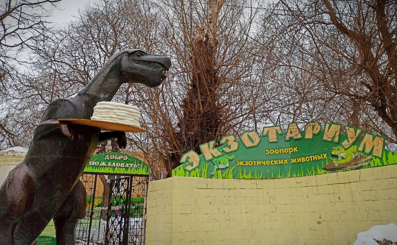 Тульский памятник Тёще подготовили к Масленице