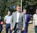 Алексей Дюмин поручил благоустроить школьный стадион в Черни