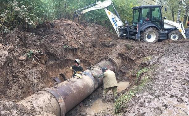 Водоснабжение в Пролетарском округе полностью восстановлено