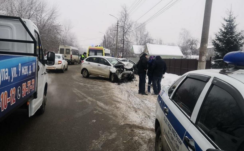 В ДТП на улице Кутузова пострадали два человека