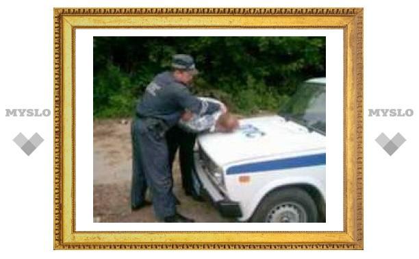 Пьяный туляк укусил инспектора ГИБДД