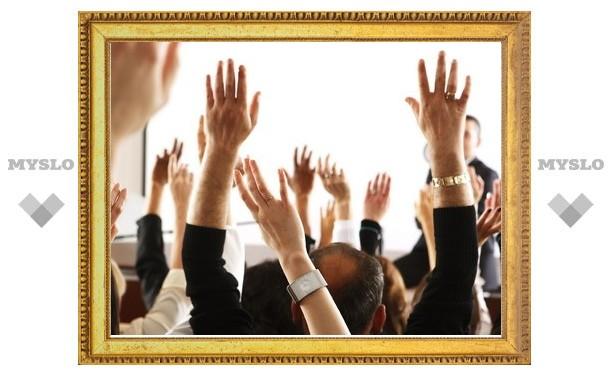 Сити-менеджера Тулы выберут открытым голосованием