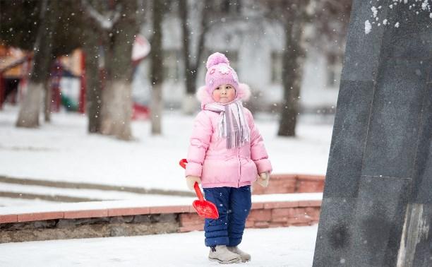 Снег в Туле будет идти все выходные
