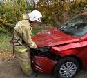 Три авто не поделили дорогу в Тульской области