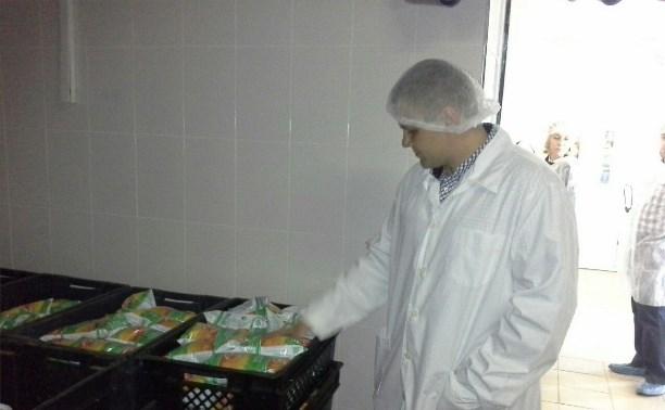 Александр Беглов посетил молочный завод в Дедилово
