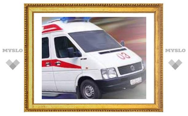 На дороге в Тульской области погиб ребенок