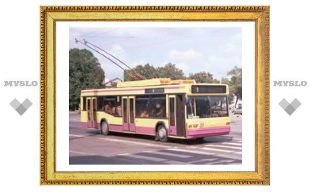 Тулячку обматерил водитель троллейбуса