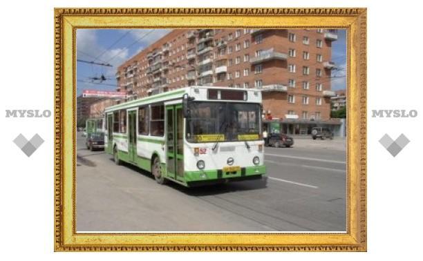 Тульские автобусы меняют маршрут
