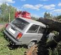 В Заокском районе 81-летний пенсионер на «четвёрке» влетел в дерево