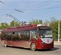 Из-за ремонта на проспекте Ленина изменится движение троллейбусов