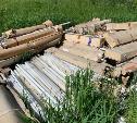 В Тульской области обнаружена незаконная свалка опасных отходов