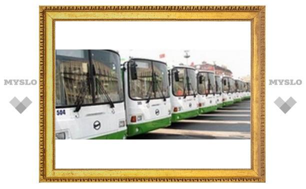 В Туле столкнулись пассажирские автобусы