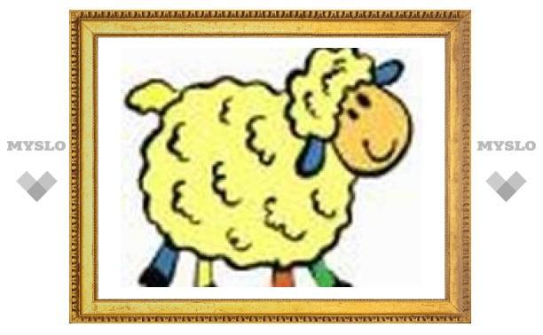 5 января: пекут печенье в форме овечек