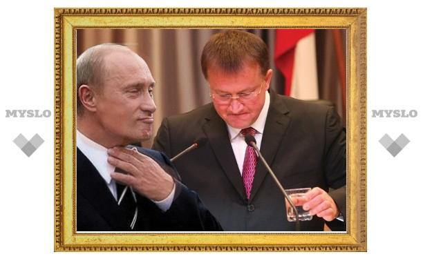 Владимир Путин признал Вячеслава Дудку «отстающим»