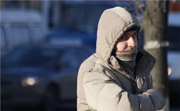В Тульской области надолго установится минусовая температура