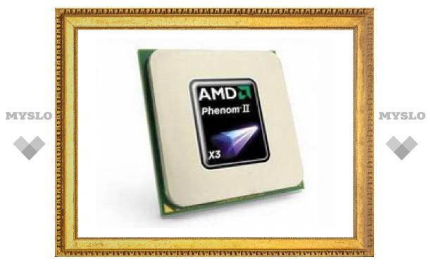 Первые в мире 45-нанометровые чипы с тремя ядрами