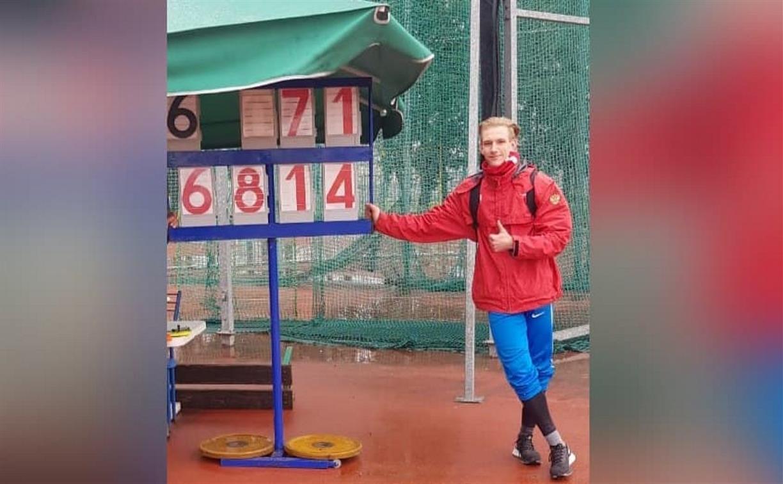 Тульский метатель Роман Ряховский победил во Всероссийских соревнованиях