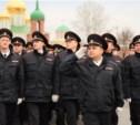 Тульская полиция отметила профессиональный праздник парадом