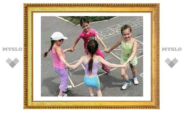 В Алексине открылась детская площадка