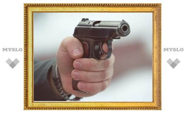 Туляк застрелил собутыльника