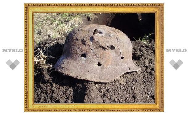 В Смоленской области обнаружили останки туляка, погибшего в годы войны