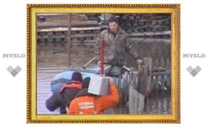 В Туле закончился паводок