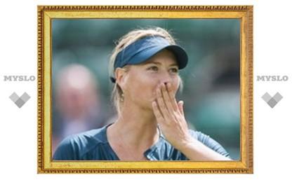 Мария Шарапова выиграла второй матч за день