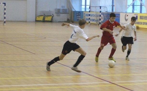 Юные школьники Тульской области определят чемпиона по мини-футболу