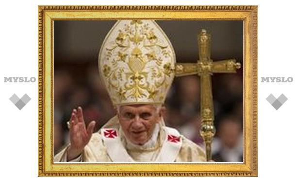 Бенедикт XVI отметил седьмую годовщину своего избрания