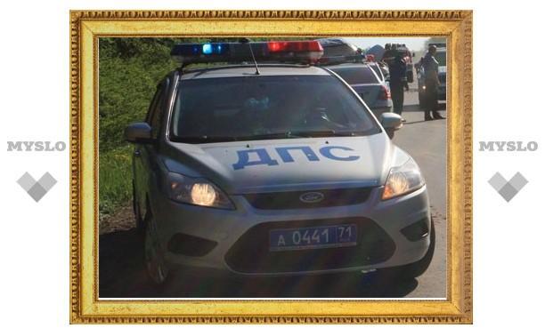 В Тульской области крупное ДТП с участием трех автомобилей