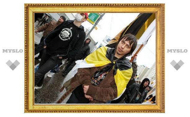 Полиция разогнала шествие националистов в Москве