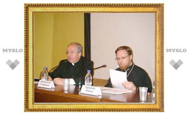 Христианские ценности в современном обществе – важная тема российско-итальянской конференции