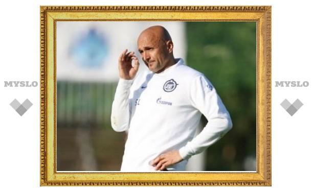 """Спаллетти оценил соперника """"Зенита"""" в Лиге чемпионов"""